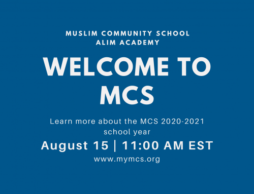 Welcome to MCS 2020-21